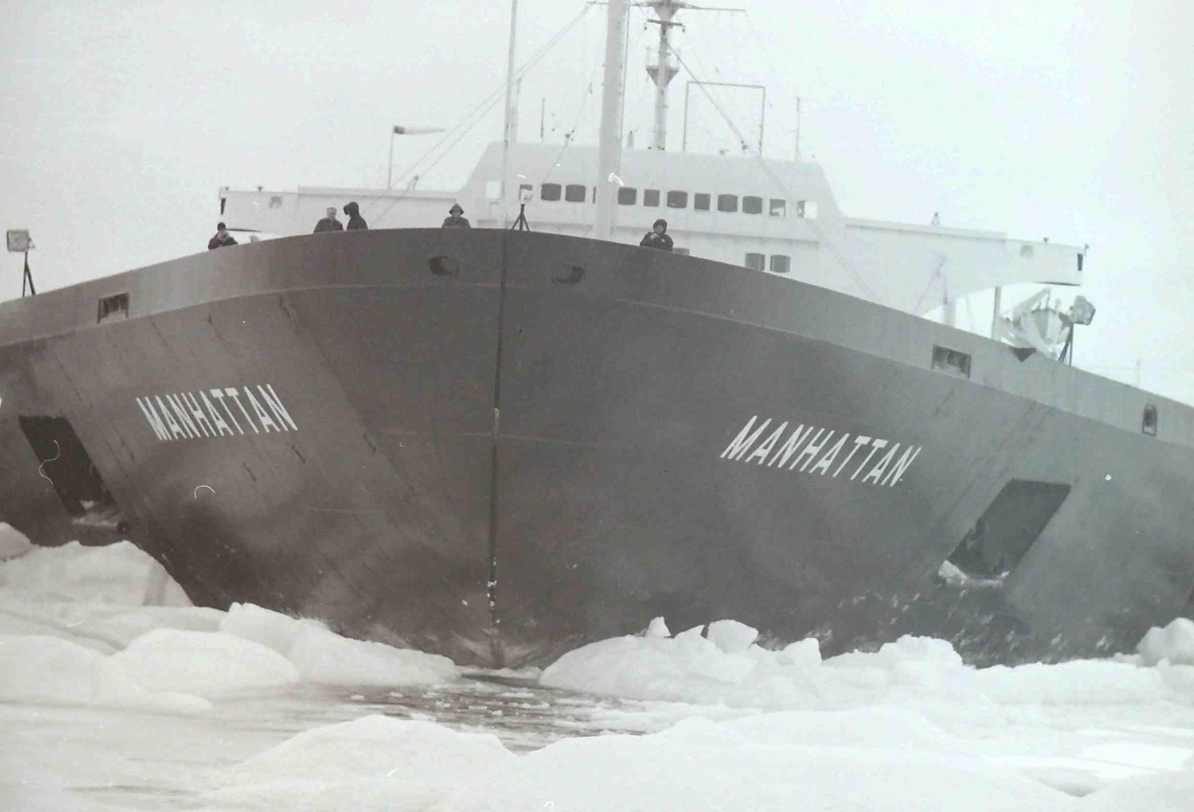 b37e7bafa2 SS Manhattan signals an open Northwest Passage - Fossil Fire